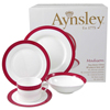 Aynsley Madison Fine Bone China 20 Piece Dinner Set