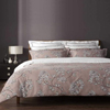Christy Etched Floral Old Rose Bedlinen