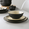 Denby Cook & Dine 12 Piece Tableware Set Black