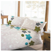 Dreams N Drapes Flutter Green Quilt Set