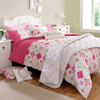 Kirstie Allsopp Home Living Lottie Raspberry Bedline