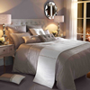 Kylie Minogue at Home Ria Silver Bed Linen