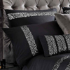 Kylie Minogue at Home Safia Black Bedlinen