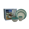 Denby Intro Alfresco Aqua 16 Piece Boxed Set
